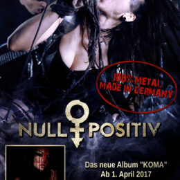 Null Positiv live Plakat