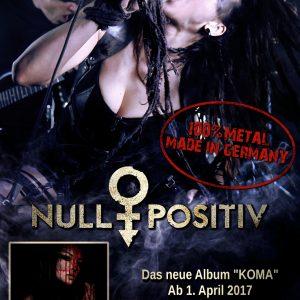 Plakat Null Positiv Klein