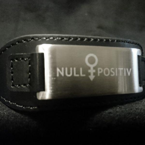 Null Positiv Armband