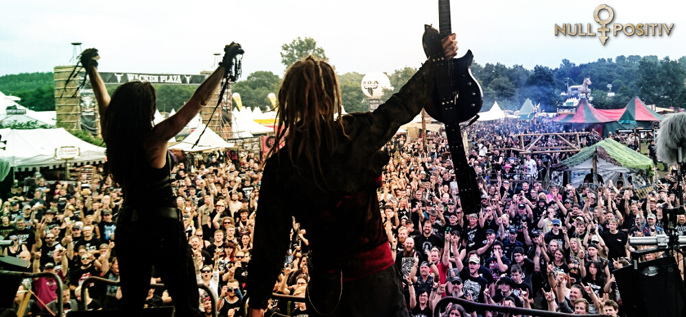 Null Positiv live Wacken 2017