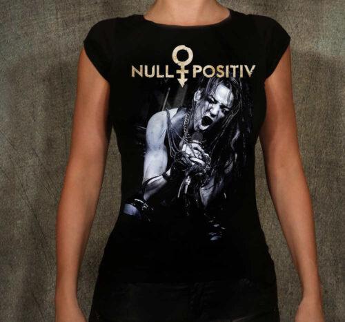 Null Positiv T-Shirt Damen