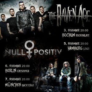 Null Positiv und The Raven Age live 2017