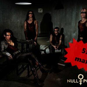 Null Positiv Autogramm 2017 Band