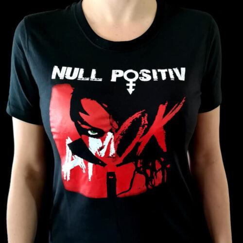 Null Positiv Girl Shirt Amok