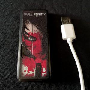 Null Positiv Feuerzeug USB