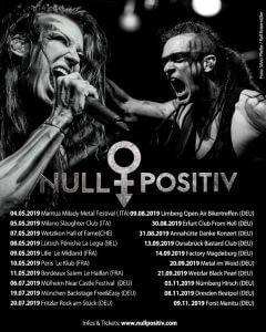 Tourplakat Null Positiv