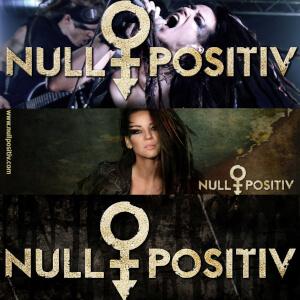 Aufkleber Null Positiv