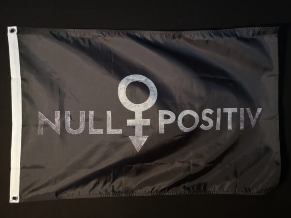 Null Positiv Fahne