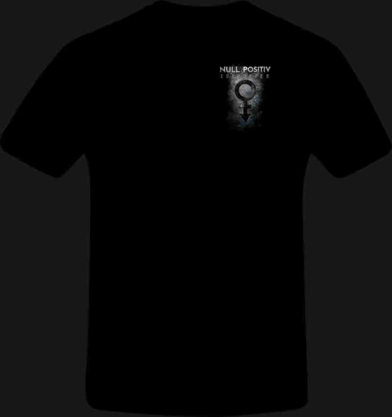Null Positiv Tshirt Front